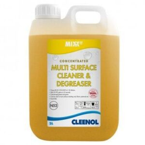 concentrated multisurface cleaner and degreaser