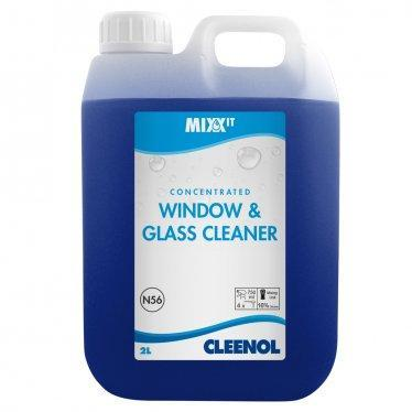concentrated window and glass cleaner