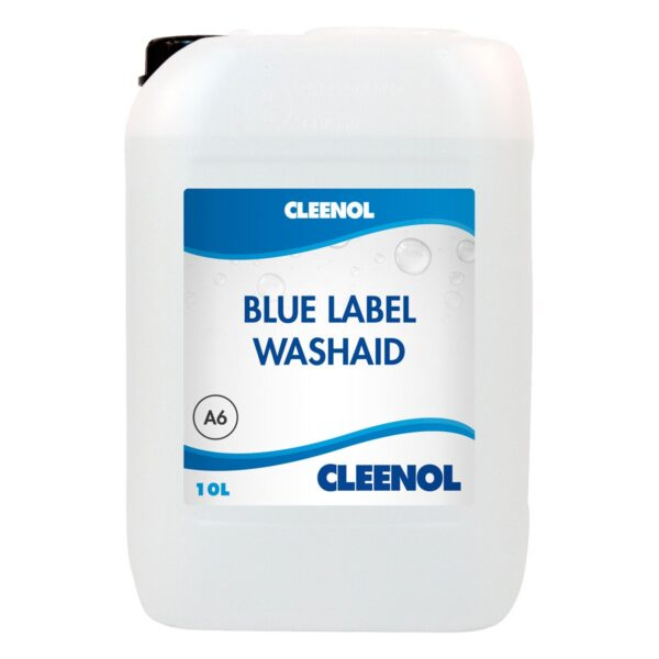 blue label machine detergent