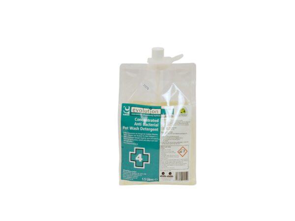 evolution 4 antibac detergent