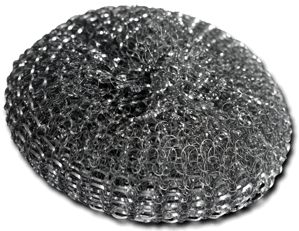 galvanised metal scourer