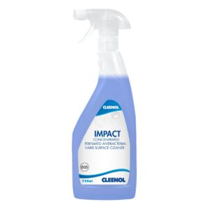 impact bactericidal perfumed hard surface cleaner