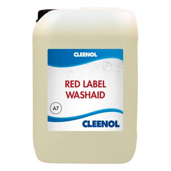 red label washaid