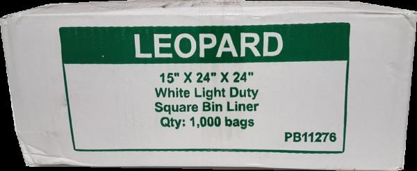 square bin liner