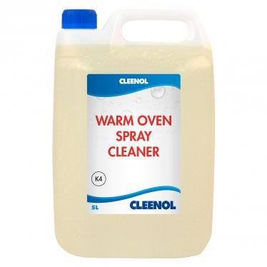 warm oven spray cleaner