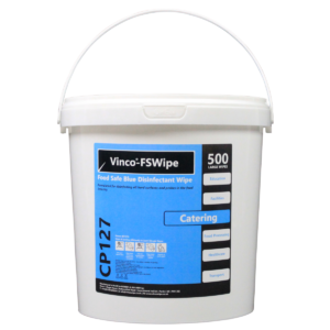 Vinco-FSWipe Disinfecting Catering Wipe 500 Wipes Blue