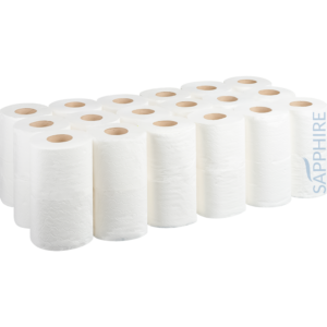 Pallet of Domestic Toilet Rolls - White - 2ply - 110mm x 95mm x 200 Sheets / 110mm x 95mm x 320 Sheets