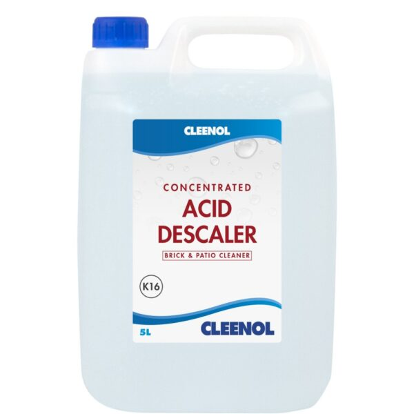 Pallet of Cleenol Concentrated Acid Descaler / Brick and Patio Cleaner, 80 cases per pallet, 2 X 5L per case